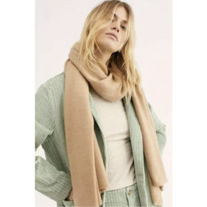 Free People Sahara Blush Cashmere Blanket Scarf
